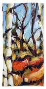 Forest Edge By Prankearts Bath Towel