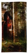 Forest In Fall Bath Towel