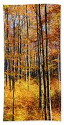 Forest Of Gold Bath Towel