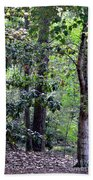 Forest Trees Bath Towel