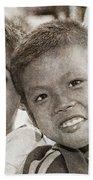 Forgotten Faces 13 Bath Towel