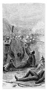 Fort Pillow Massacre, 1864 Bath Towel