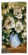 Fragrant Roses Bath Towel