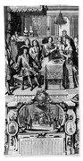 France: Baptism, 1704 Bath Towel