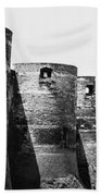 France: Chateau Dangers Bath Towel