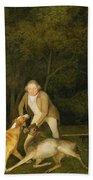 Freeman - The Earl Of Clarendon's Gamekeeper Bath Towel