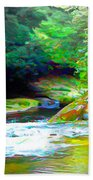 French Broad River Filtered Bath Towel