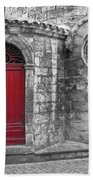 French Church Exterior Hand Towel