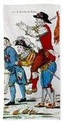 French Revolution, 1792 Hand Towel