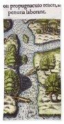 French: Sth. Carolina, 1562 Bath Towel