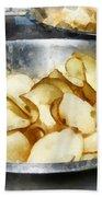 Fresh Potato Chips Bath Towel