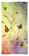 Frolicing Butterflies Bath Towel