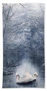 Frozen Time Bath Towel