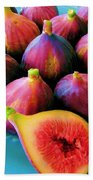 Fruit - Jersey Figs - Harvest Bath Towel
