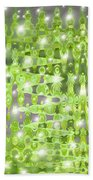 Future Forest Abstract Bath Towel