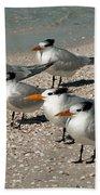 Gaggle Of Gulls Bath Towel