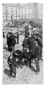 Galway Ireland - The Market At Eyre Square - C 1901 Bath Towel