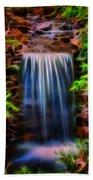 Garden Falls Fractalized Bath Towel