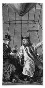 Gay-lussac And Jean-baptiste Biot, 1804 Bath Towel