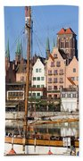 Gdansk In Poland Hand Towel