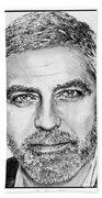 George Clooney In 2009 Bath Towel