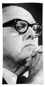 George Meany (1894-1980) Bath Towel