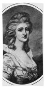 Georgiana Shipley (1752-1806) Bath Towel