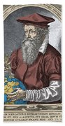 Gerardus Mercator, Flemish Cartographer Bath Towel