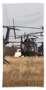 German Army Bo-105 Helicopters, Stendal Bath Towel