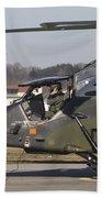 German Tiger Eurocopter At Fritzlar Bath Towel