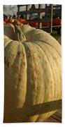 Ghost Pumpkin Bath Towel