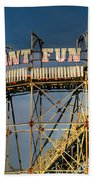 Giant Fun Fair Bath Towel