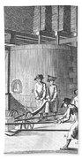 Glass Manufacture, 1751 Bath Towel