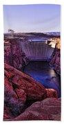 Glen Canyon Dam Bath Towel