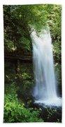 Glencar Waterfall, Yeats Country, Co Bath Towel