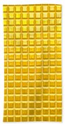 Gold Background Hand Towel