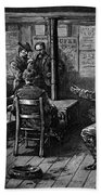 Gold Rush: Miners, 1887 Bath Towel