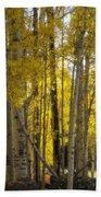 Golden Autumn  Bath Towel