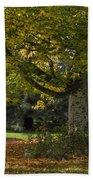 Golden Cappadocian Maple. Bath Towel
