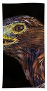 Golden Eagle Bath Towel