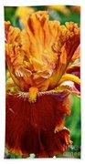 Golden Iris Bath Towel