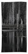 Goose Lake Dusk Bath Towel