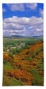 Gortin Valley, Co Tyrone, Ireland Bath Towel