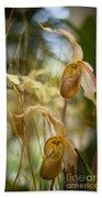 Graceful Orchids Bath Towel