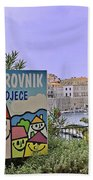 Grad Dubrovnik Bath Towel