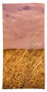 Grain Elevator And Crop Bath Towel