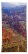 Grand Canyon Morning Scenic View Bath Towel