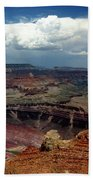 Grand Canyon View - Greeting Card Bath Towel