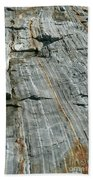 Granite With Quartz Inclusions Bath Towel