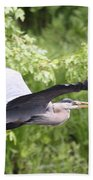 Great Blue Flight Bath Towel